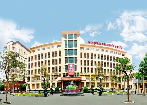 Học viện Báo chí và Tuyên truyền công bố điểm chuẩn xét học bạ