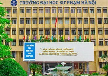 Chỉ tiêu tuyển sinh của Đại học Sư phạm Hà Nội năm 2019