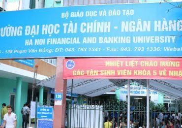 Chỉ tiêu tuyển sinh của Đại học Tài chính Ngân hàng năm 2019