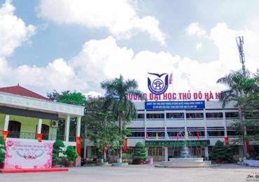 Chỉ tiêu tuyển sinh của Đại học Thủ đô Hà Nội năm 2019