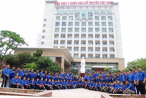 Chỉ tiêu tuyển sinh của HV Y dược học cổ truyền Việt Nam năm 2019