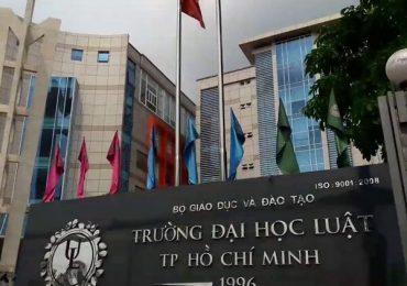 Chỉ tiêu tuyển sinh của ĐH Luật TPHCM năm 2019