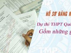 Bộ hồ sơ đăng ký dự thi THPT Quốc gia 2019 gồm những gì?