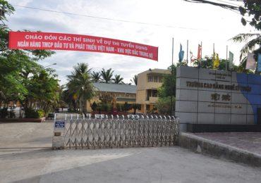 Điểm chuẩn CĐ nghề Việt-Đức Hà Tĩnh năm 2018 và chỉ tiêu tuyển sinh năm 2019