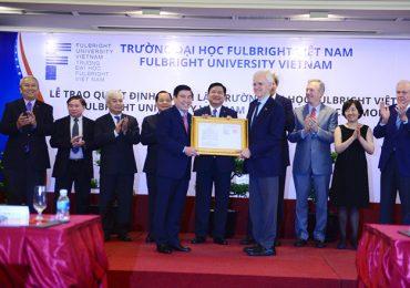 Điểm chuẩn Đại học Fulbright Việt Nam năm 2018 và chỉ tiêu tuyển sinh năm 2019