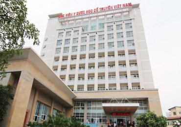Điểm chuẩn Học viện Y dược học cổ truyền Việt Nam năm 2018 và chỉ tiêu tuyển sinh năm 2019