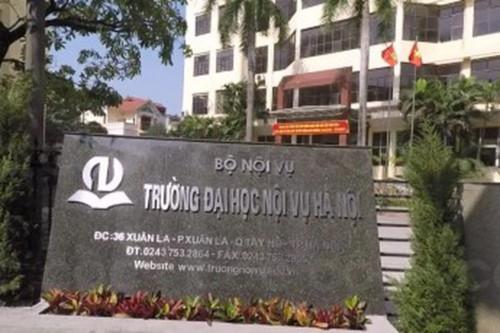 Điểm chuẩn Phân hiệu ĐH Nội vụ Hà Nội tại Quảng Nam năm 2018 và chỉ tiêu tuyển sinh năm 2019