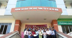Thông tin tuyển sinh 2019 Trường Cao đẳng Công nghệ Thông tin TPHCM
