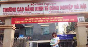 Trường Cao đẳng Kinh tế công nghiệp Hà Nội thông báo tuyển sinh 2019