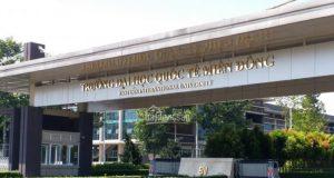 Thông tin tuyển sinh Đại học Quốc tế Miền Đông năm 2019