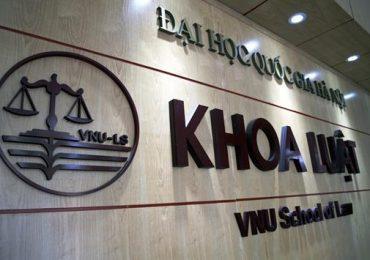 Điểm chuẩn Khoa Luật, Đại học Quốc gia Hà Nội năm 2018 và chỉ tiêu tuyển sinh năm 2019