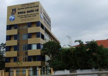 Điểm chuẩn Khoa Quốc tế, Đại học Quốc gia Hà Nội năm 2018 và chỉ tiêu tuyển sinh năm 2019
