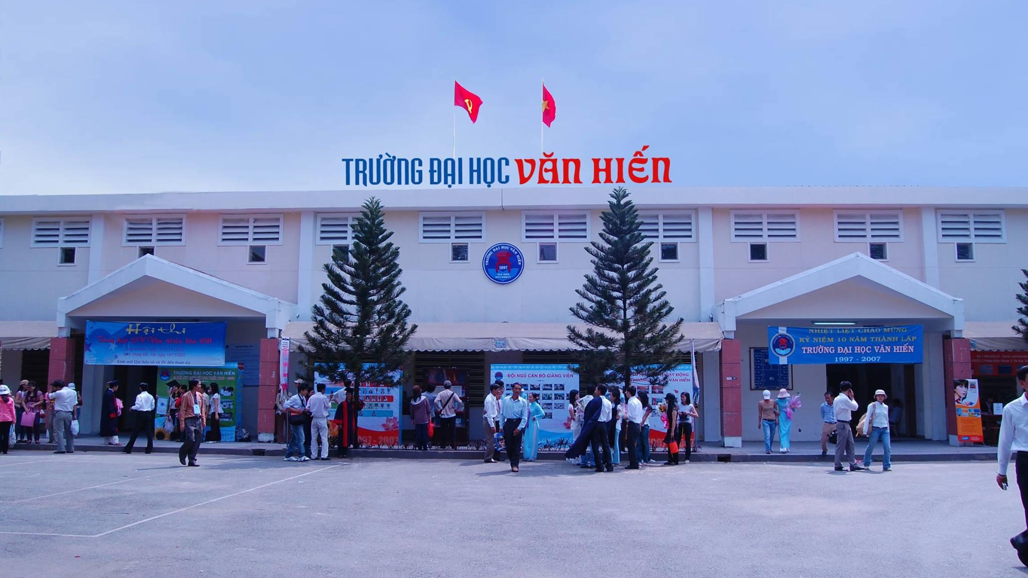 Đại học Văn Hiến thông báo tuyển sinh đợt 11 theo kết quả học bạ THPT