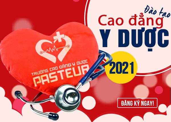 hông tin tuyển sinh Trường Cao đẳng Y Dược Pasteur năm 2021