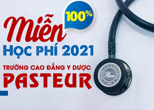 Miễn 100% học phí Cao đẳng Y Dược năm 2021 cho con em cán bộ ngành y tế