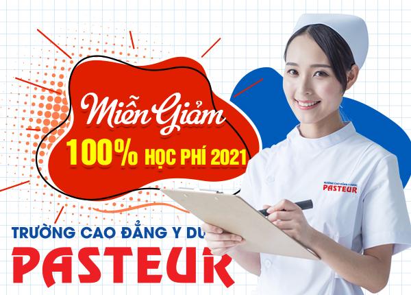Trường Cao đẳng Y Dược Pasteur miễn giảm 100% học phí Cao đẳng Y Dược năm 2021
