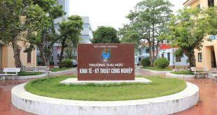 Điểm trúng tuyển học bạ THPT của ĐH Kinh tế - Kỹ thuật Công nghiệp