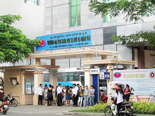 Điểm chuẩn Trường Đại học Khoa học xã hội và Nhân văn - ĐHQG TP.HCM năm 2018 và chỉ tiêu tuyển sinh năm 2019