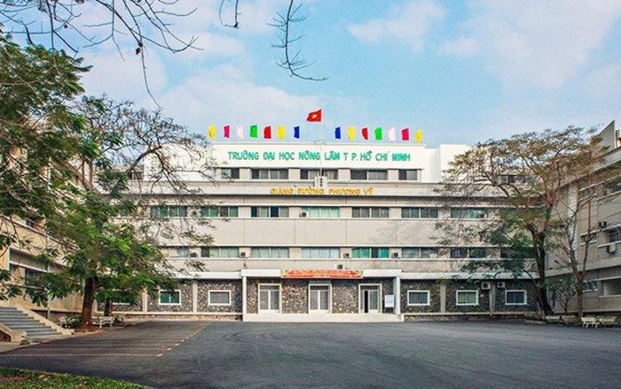 Trường Đại học Nông Lâm TPHCM công bố điểm chuẩn học bạ năm 2021
