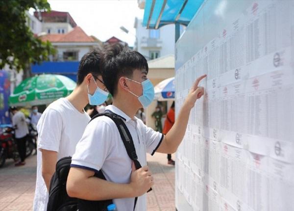 Thời gian công bố điểm chuẩn Đại học năm 2021