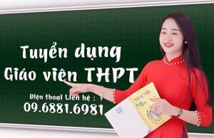 Trường THPT Trần Quốc Toản Tp HCM thông báo tuyển dụng giáo viên